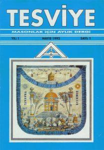 Sayı 1 - Mayıs 1992