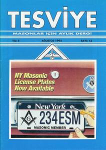 Sayı 13 - Ağustos 1994