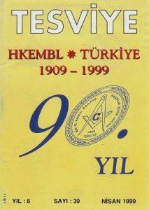 Sayı 39 - Nisan 1999