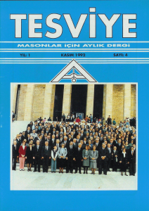 Sayı 4 - Kasım 1992