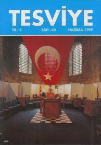 Sayı 40 - Haziran 1999