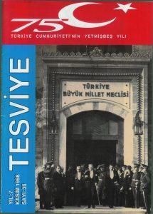 sayı 36 - Kasım 1998