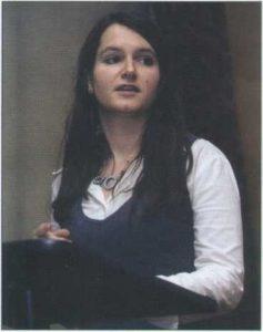 Jennifer FARRAR, Sheffield Üniversitesi Doktora öğrencisi