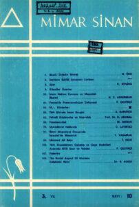 Mimar Sinan Dergisi (10)