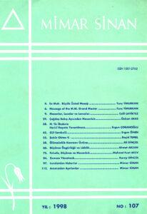 Mimar Sinan Dergisi (107)