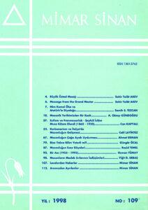Mimar Sinan Dergisi (109)