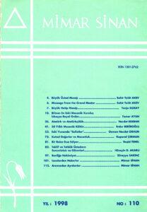 Mimar Sinan Dergisi (110)