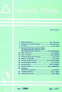 Mimar Sinan Dergisi (111)