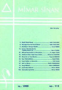 Mimar Sinan Dergisi (112)