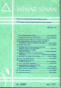 Mimar Sinan Dergisi (117)