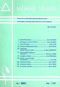 Mimar Sinan Dergisi (119)