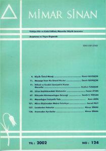 Mimar Sinan Dergisi (124)