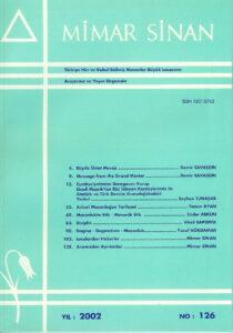 Mimar Sinan Dergisi (126)