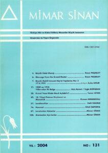 Mimar Sinan Dergisi (131)