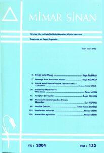 Mimar Sinan Dergisi (132)