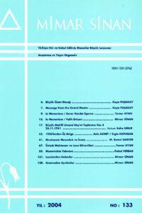 Mimar Sinan Dergisi (133)