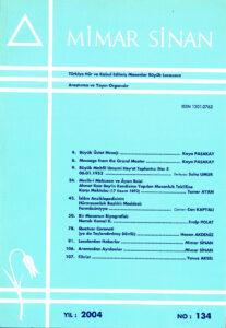 Mimar Sinan Dergisi (134)