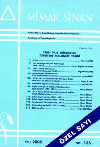 Mimar Sinan Dergisi (135)