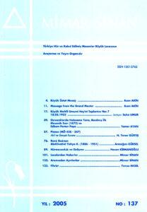 Mimar Sinan Dergisi (137)