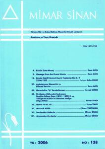 Mimar Sinan Dergisi (138)