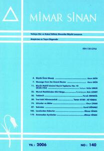 Mimar Sinan Dergisi (140)