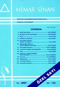 Mimar Sinan Dergisi (143)