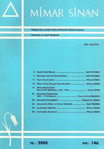 Mimar Sinan Dergisi (146)