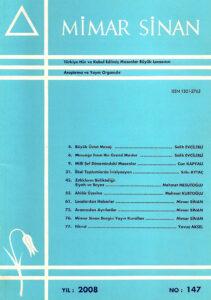 Mimar Sinan Dergisi (147)