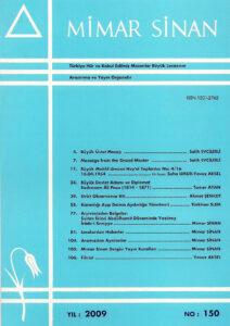 Mimar Sinan Dergisi (150)
