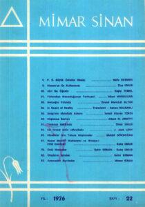Mimar Sinan Dergisi (22)