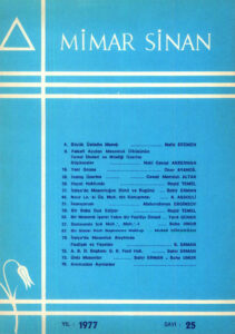 Mimar Sinan Dergisi (25)