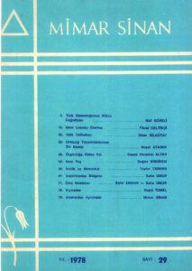 Mimar Sinan Dergisi (29)