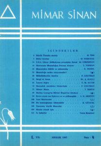 Mimar Sinan Dergisi (4)