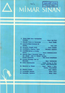 Mimar Sinan Dergisi (43)