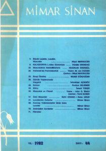 Mimar Sinan Dergisi (44)