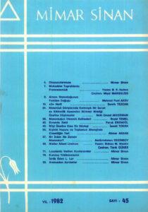 Mimar Sinan Dergisi (45)