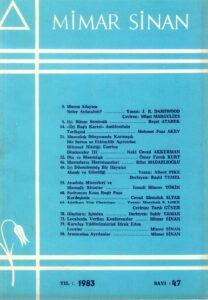 Mimar Sinan Dergisi (47)