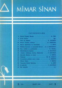 Mimar Sinan Dergisi (5)