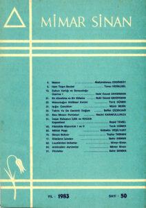 Mimar Sinan Dergisi (50)