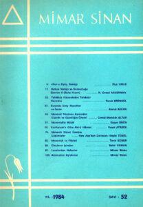 Mimar Sinan Dergisi (52)