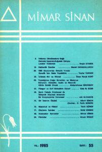 Mimar Sinan Dergisi (55)