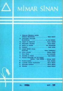 Mimar Sinan Dergisi (59)