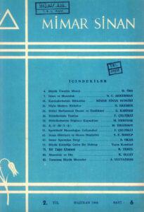 Mimar Sinan Dergisi (6)