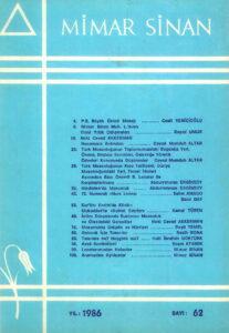 Mimar Sinan Dergisi (62)