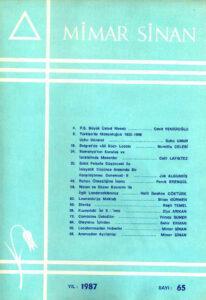 Mimar Sinan Dergisi (65)