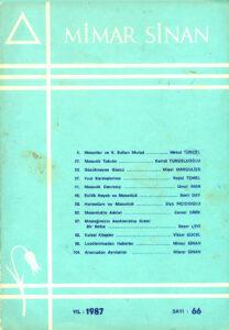 Mimar Sinan Dergisi (66)