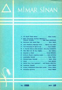 Mimar Sinan Dergisi (69)