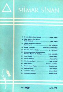 Mimar Sinan Dergisi (76)