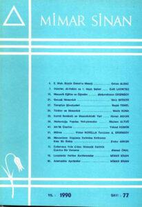 Mimar Sinan Dergisi (77)