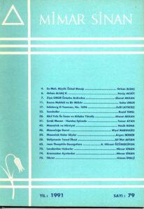 Mimar Sinan Dergisi (79)